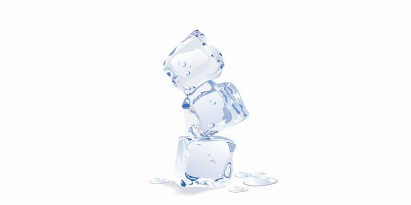 Career Coaching - 3 stacked ice cubes melting