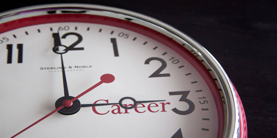 Time for a Career, Clock - Career by www.flazingo.com