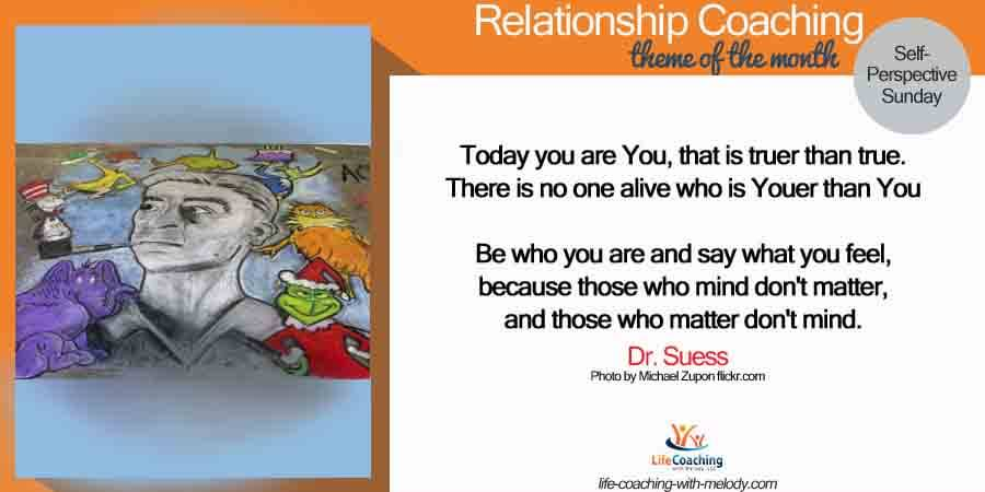 Self-Relationship: Dr. Suess Perspective