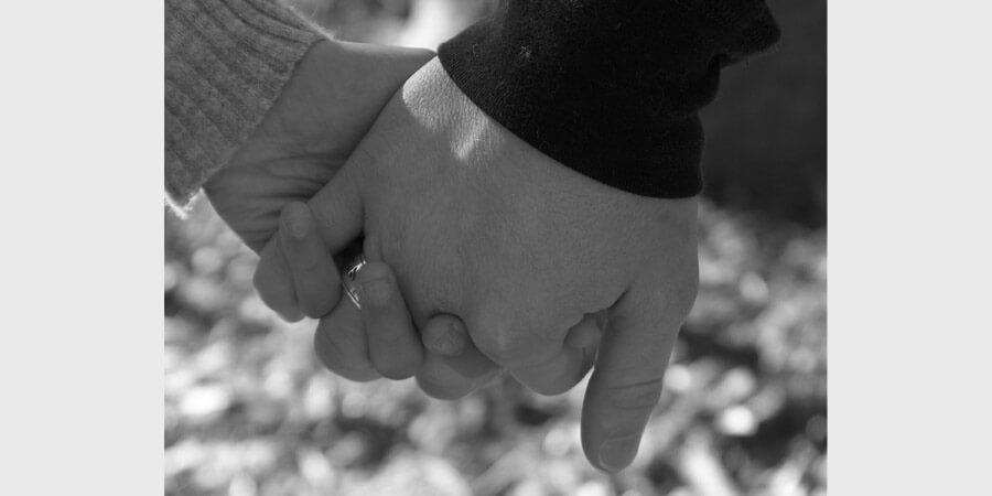 """Relationships: """"Hands: Jacki and I holding hands,"""" by Josh Baptist flickr.com"""