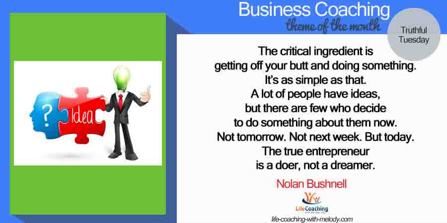 Business Coaching Helps You Take Action
