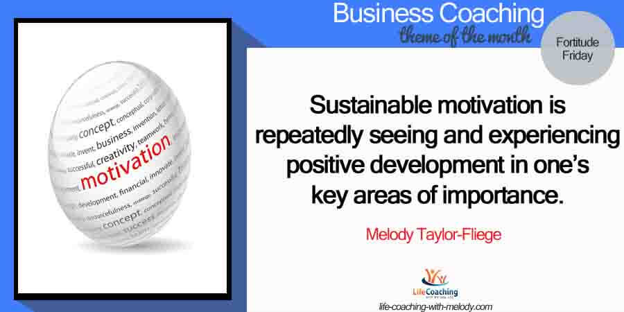 Business: Sustainable Motivation