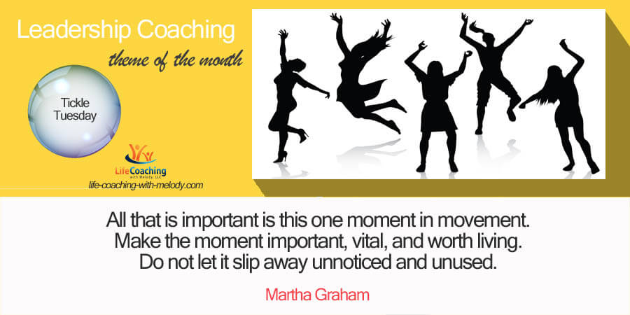 Leadership With Physical Movement