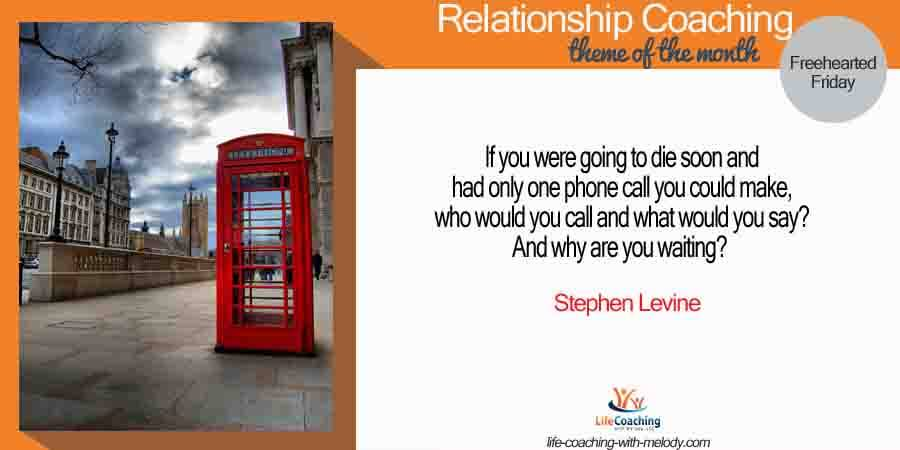 Do It NOW In Relationship!