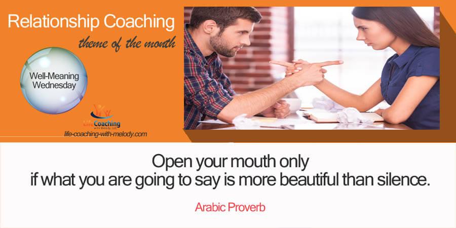 Kind Words In Relationship