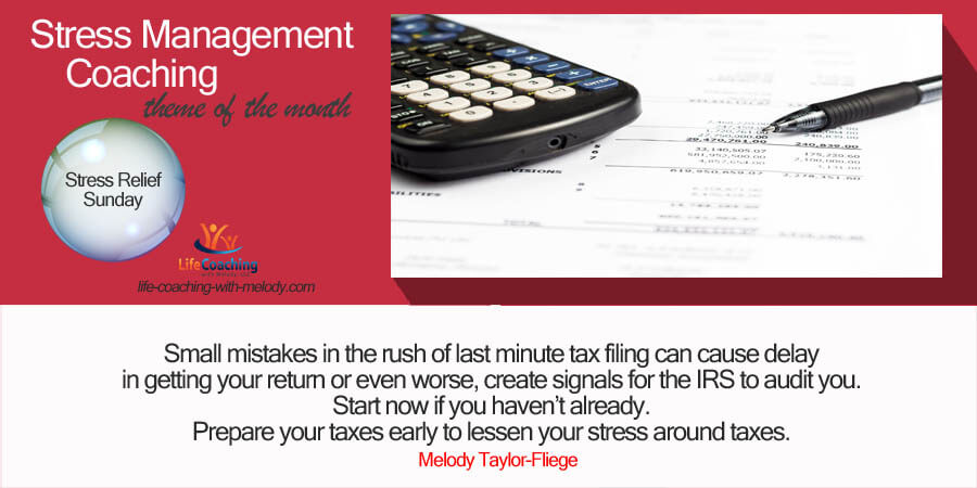 Stress Relief Through Taxes