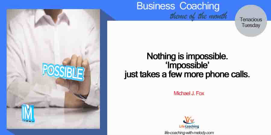 Making Things Possible In Business