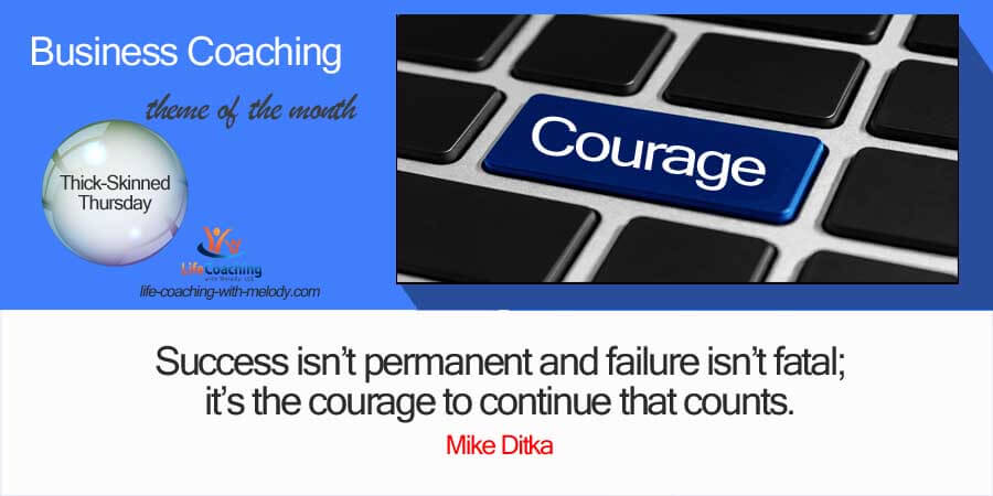 Courage In Business