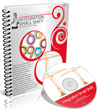 Integration Small Shifts Video and Workbook