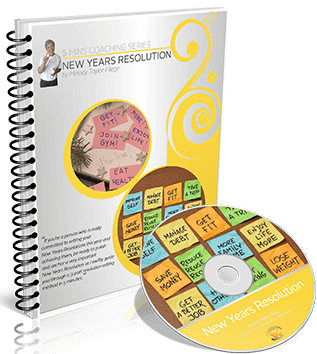 New Years Resolution Video and Workbook