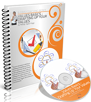 Values Basic Drafting Up Your Values Video and Workbook