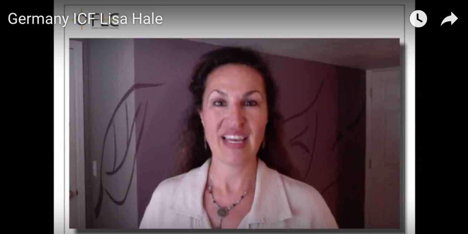 Lisa Hale ICF-Berlin Bringing Leadership Home