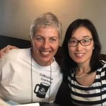Image of Natalie Lee and Coffeeshop Coach Melody Taylor-Fliege