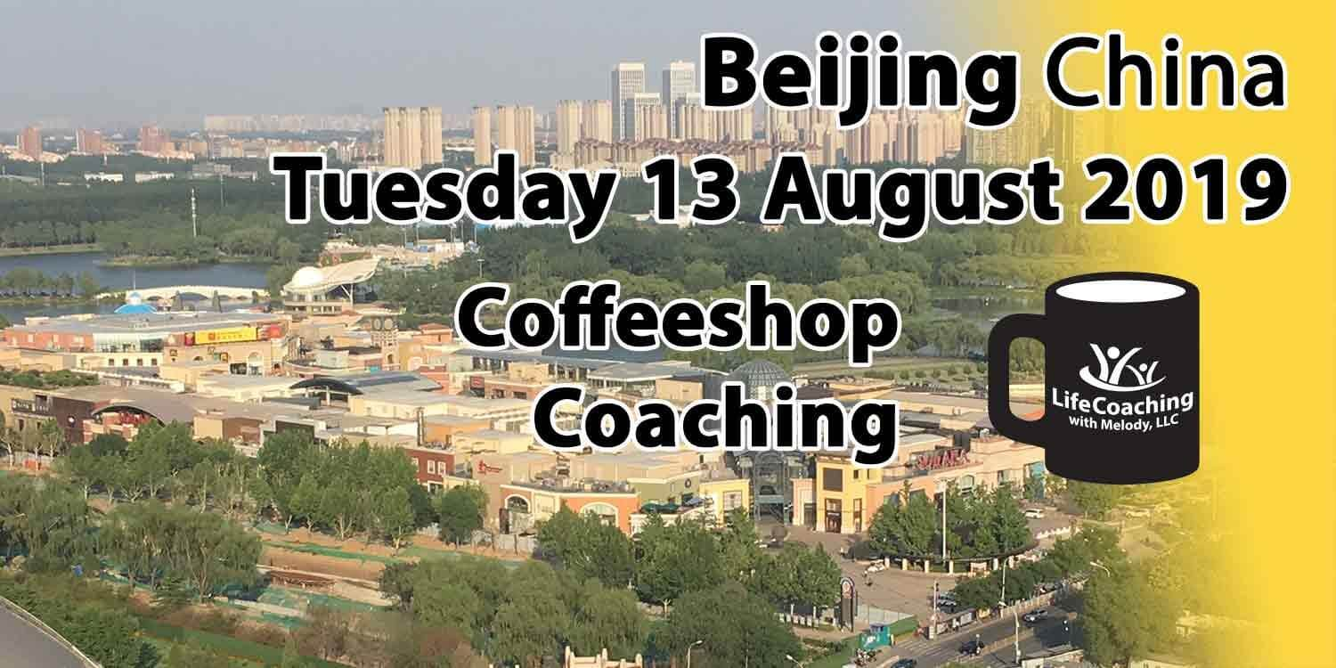 Image of Solana Shopping Center Beijing China with words Tuesday 13 August 2019 Coffeeshop Coaching