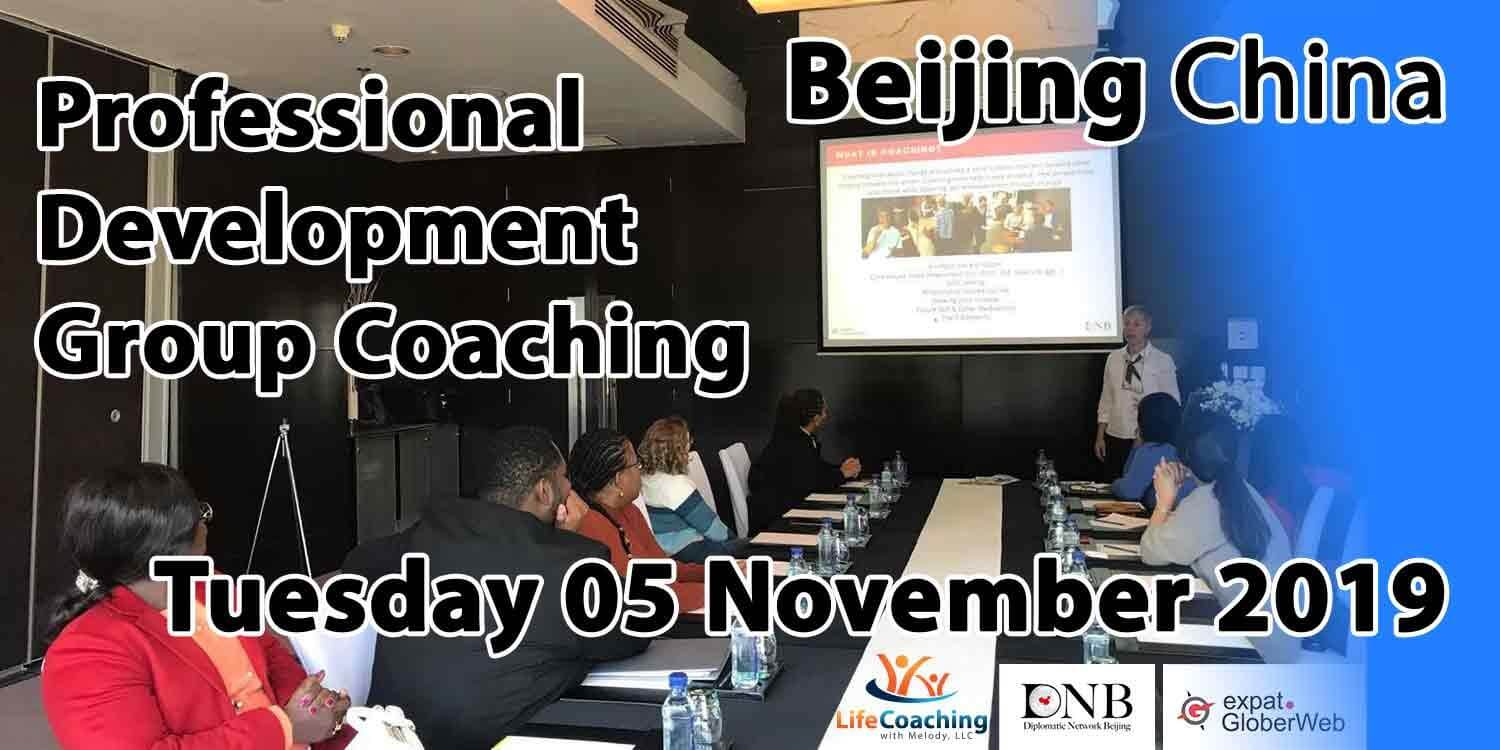 Image of a group of diplomats living in Beijing China attending a professional development group coaching sponsored by DNB Diplomatic Network Beijing and Globerweb Expat community
