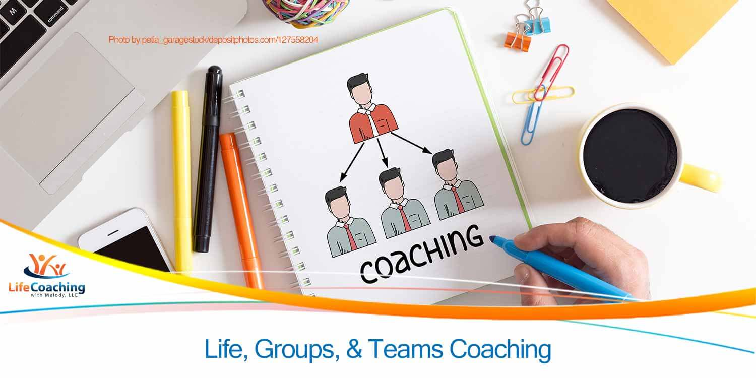 Image of multiple things representing virtual team coaching concept